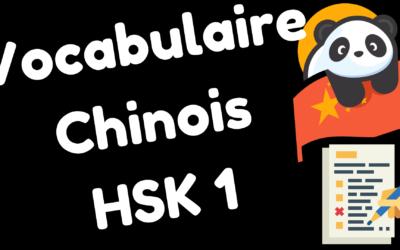 Cours de chinois débutant – Leçon de vocabulaire HSK 1