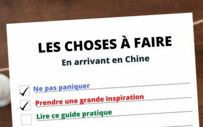 Conseils pour expatriés en Chine – 7 choses à faire en arrivant