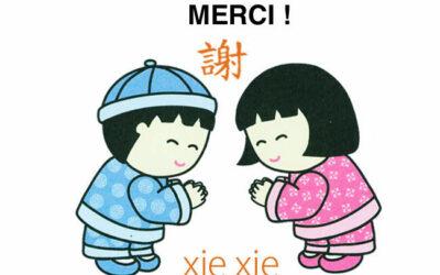 Comment dire merci en chinois sans faire de fautes